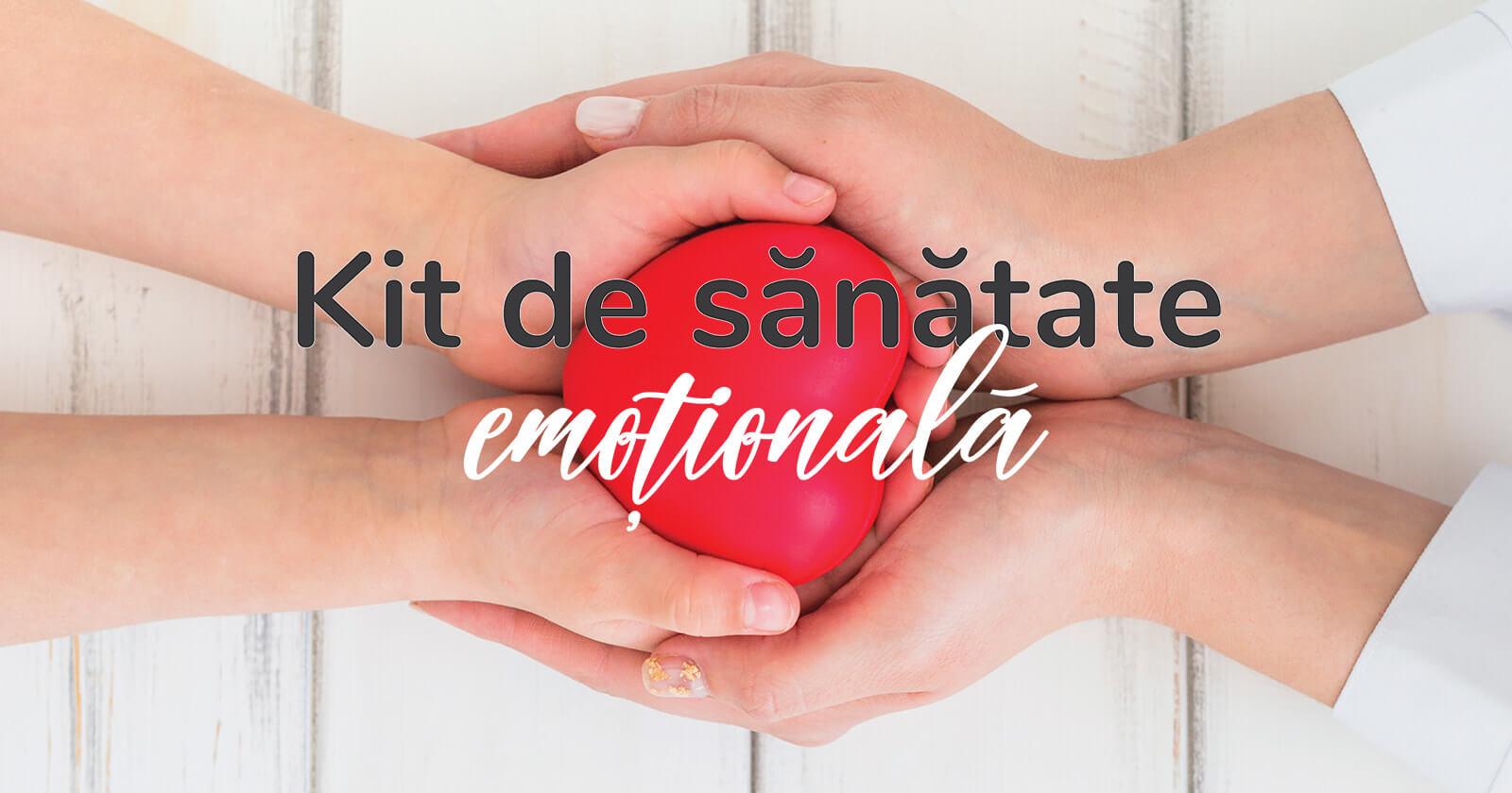 [Video] Kit de sănătate emoțională: Sport și nutriție acasă