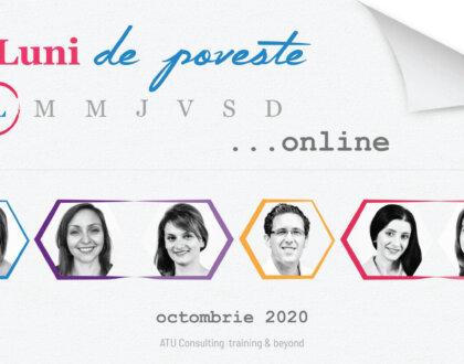 Luni de poveste… online, ediția 2020