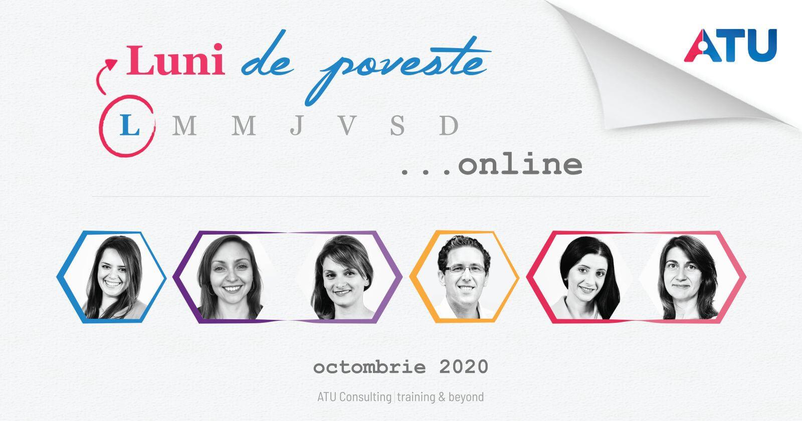 Luni de poveste... online, ediția 2020